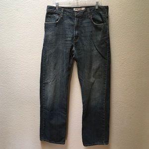 Levi's 569 Jeans Loose Fit Straight Leg 34 x 32